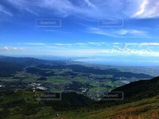 自然,空,屋外,雲,山,草,丘,谷,眺め,山腹