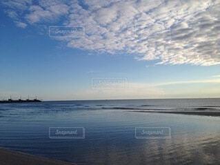自然,風景,海,空,屋外,湖,ビーチ,雲,水面,海岸,波紋