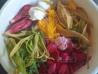 花,カラフル,バラ,花びら,薔薇,皿,バリ島,色,盛り合わせ,草木