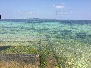 自然,風景,海,空,屋外,南国,ビーチ,雲,島,水面,沖縄