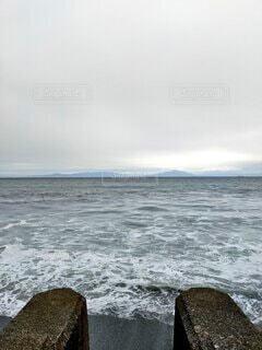海,空,屋外,ビーチ,雲,水面