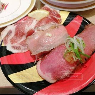 食べ物,皿,お寿司,肉,豚肉,おすし,赤身肉,動物性脂肪