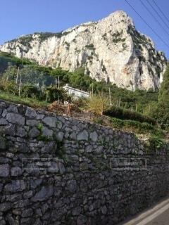 自然,屋外,岩,草木,ナポリ