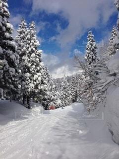 雪山の写真・画像素材[4160583]