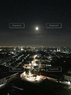 空,屋外,都会,月,タイ