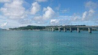 自然,空,橋,屋外,湖,ビーチ,雲,水面,海岸,山,旅行