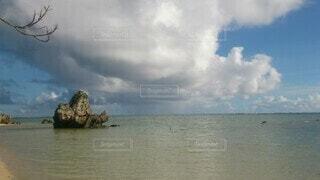 自然,風景,海,空,屋外,湖,ビーチ,雲,水面,海岸,日中