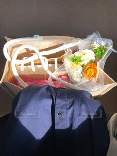 花,屋内,花瓶,バラ,出産,祝い