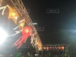 風景,空,夜,フェス,花火,祭り,ミャンマー,明るい,ステージ,テキスト,festival,Myanmar