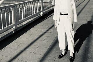 """""""橋に佇む""""の写真・画像素材[4214068]"""