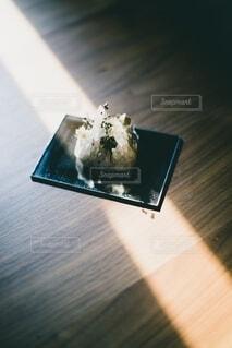 光に触れる水晶の写真・画像素材[4164228]