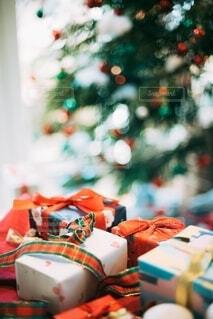 クリスマスプレゼントの写真・画像素材[4196624]