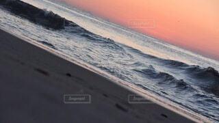 自然,風景,海,屋外,砂,ビーチ,砂浜,水面,海岸,日の出