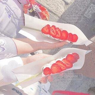食べ物,スイーツ,京都,和菓子,いちご,苺,着物,団子,イチゴ