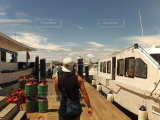 風景,海,空,屋外,海外,船,景色,旅,旅人,コタキナバル
