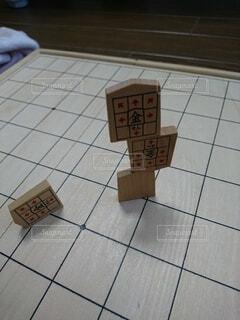 屋内,将棋,バランス,積み木,将棋の駒