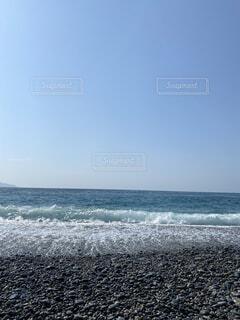 自然,海,空,屋外,ビーチ,水面,海岸
