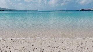 海,夏,ビーチ,青空,砂浜,海辺,沖縄,エメラルドグリーン,名護