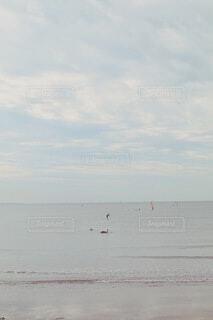 自然,空,屋外,湖,ビーチ,雲,砂浜,海岸,日中