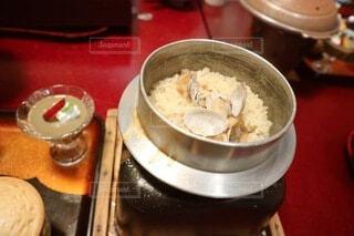 アサリの釜飯の写真・画像素材[4193041]
