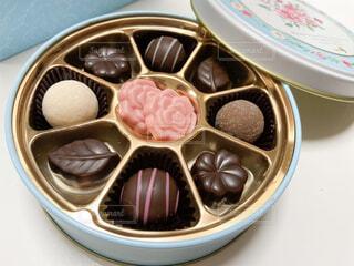 頂いたチョコレートの写真・画像素材[4238151]