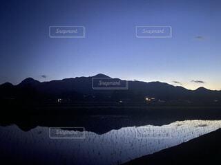 自然,風景,空,屋外,湖,雲,夕暮れ,水面,山
