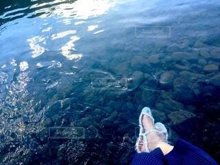 川遊びの写真・画像素材[4192760]