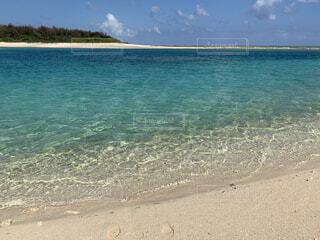 自然,風景,海,空,屋外,湖,ビーチ,水面,沖縄,南の島,久米島,離島,加工なし,南国の海,エメラルドの海,珊瑚礁の海