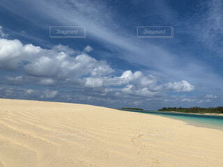 南国のプライベートビーチの写真・画像素材[4179637]