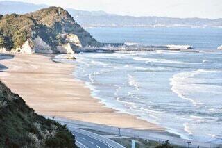 自然,海,空,屋外,ビーチ,水面,海岸,山