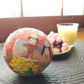 おばちゃんの雛祭りの写真・画像素材[4211896]