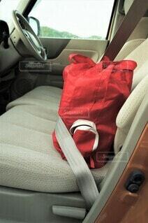エコバッグにシートベルトをの写真・画像素材[4373211]