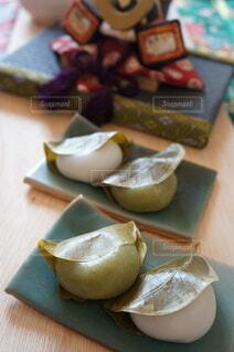 かしわ餅の写真・画像素材[4386465]