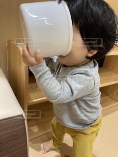 屋内,人,赤ちゃん,幼児,9ヶ月,前見えない