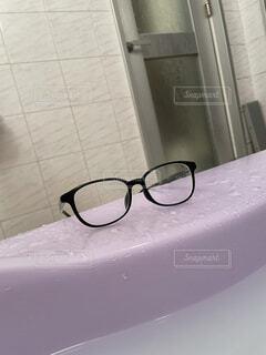 屋内,サングラス,壁,お風呂,ゴーグル,メガネ