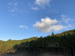 自然,風景,空,屋外,雲,山,樹木