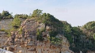 大きな岩のクローズアップの写真・画像素材[4188705]