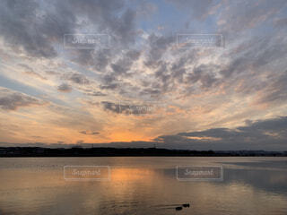 日が沈む前にの写真・画像素材[4186899]