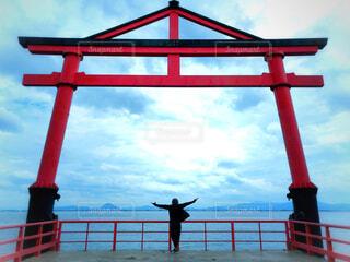 琵琶湖サイクリング 寄り道の写真・画像素材[4189053]