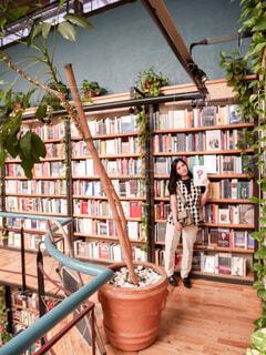 メキシコシティのインスタ映えスポット 図書館 + カフェ = カフェブレリアの写真・画像素材[4193273]
