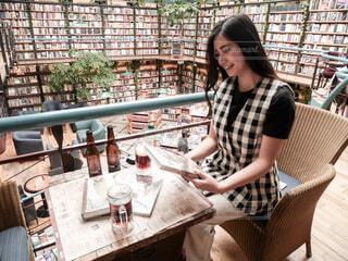 メキシコシティのインスタ映えスポット 図書館 + カフェ = カフェブレリアの写真・画像素材[4193501]