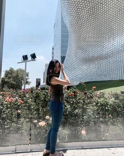 メキシコシティのインスタ映えスポット ソウマヤ美術館の写真・画像素材[4193886]