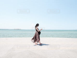メキシコ ラパスの海沿いをお散歩♪の写真・画像素材[4222821]