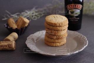 ベイリーズ×米粉クッキーの写真・画像素材[4401605]