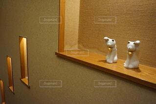 猫,屋内,壁,置き物,グッズ