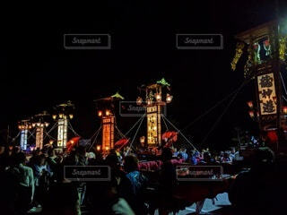 祭りの写真・画像素材[4274437]