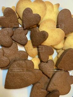 旦那と息子へ手作りクッキーの写真・画像素材[4205026]
