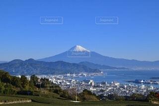 自然,風景,空,富士山,絶景,屋外,雲,青空,山,大地,高原,山腹,バック グラウンド