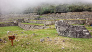 マチュピチュ遺跡内の写真・画像素材[4499861]