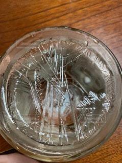 透明,氷,ガラス,食器,神秘的,カップ